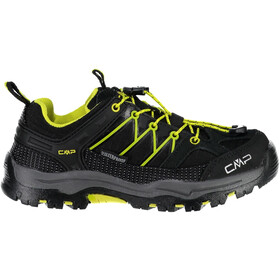 CMP Campagnolo Rigel Low WP Trekking Shoes Junior nero-limeade
